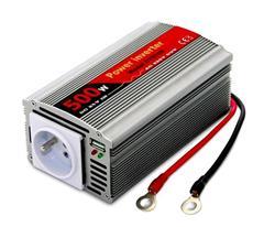 Měnič napětí DY-8109-24, DC/AC 24V/230V, 500W, USB