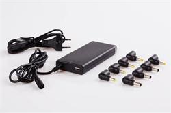 Napájecí univerzální adaptér 65W slim automatic, USB