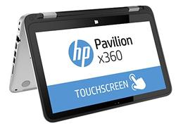 HP Pavilion x360 13-a151nc, A8-6410 quad, 13.3 HD, UMA, 4GB, 500GB + 8GB NAND, W8.1ML64, Touch/Natural silver