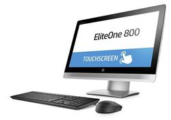 HP EliteOne 800 G2 AiO 23 T, i3-6100, Intel HD, 1x4 GB, 500 GB, DVDRW, SD MCR, a/b/g/n + BT, Win10P64, wireless