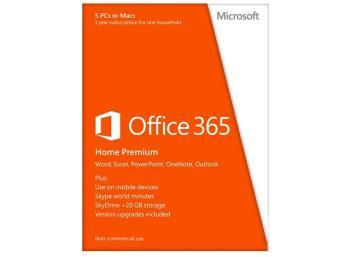 Office 365 pro domácnosti 32/64-bit SK - předplatné na 1 rok - Box