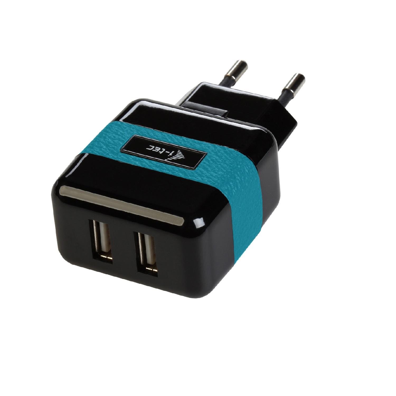 i-Tec USB Power Charger 2 Port 2.1A - nabíječka pro USB zařízení, 2 x 2.1A, pro iPhone/Samsung
