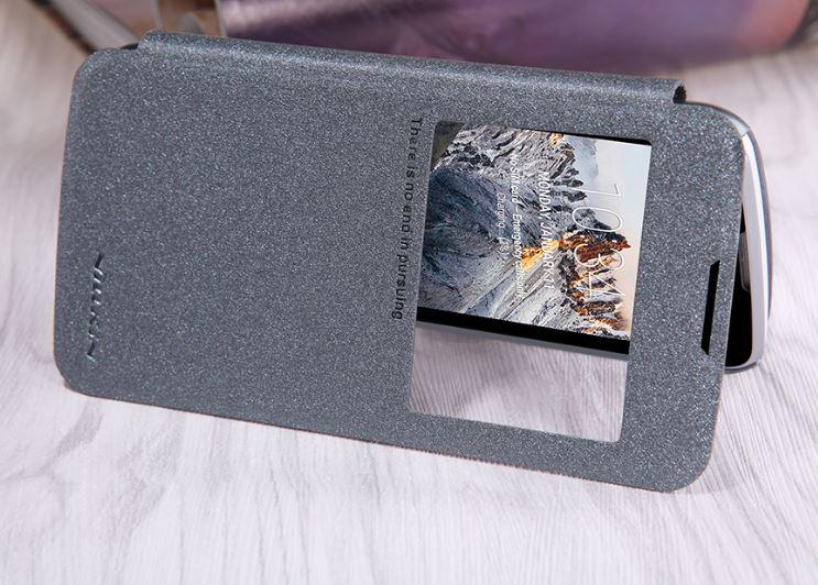 Nillkin Sparkle S-View Pouzdro Black pro LG K120 K4