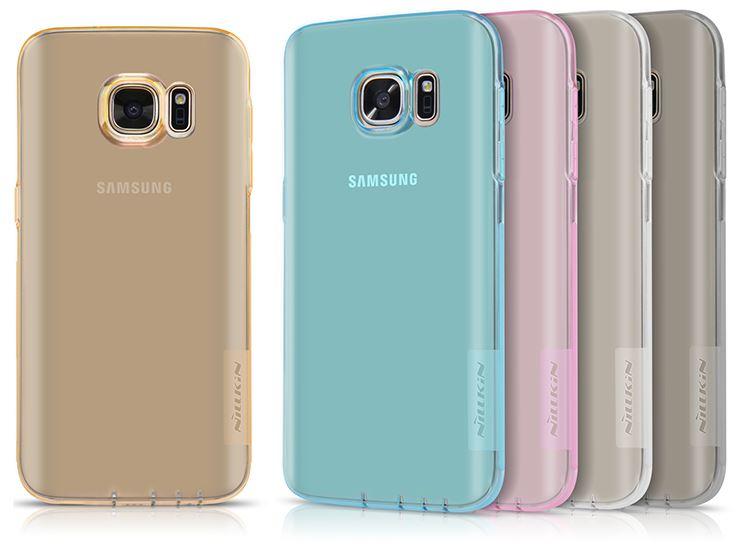 Nillkin Nature TPU Pouzdro pro Samsung G930 Galaxy S7 Transparent