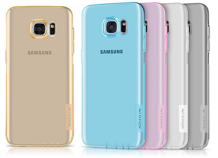 Nillkin Nature TPU Pouzdro pro Samsung G935 Galaxy S7 Edge Grey
