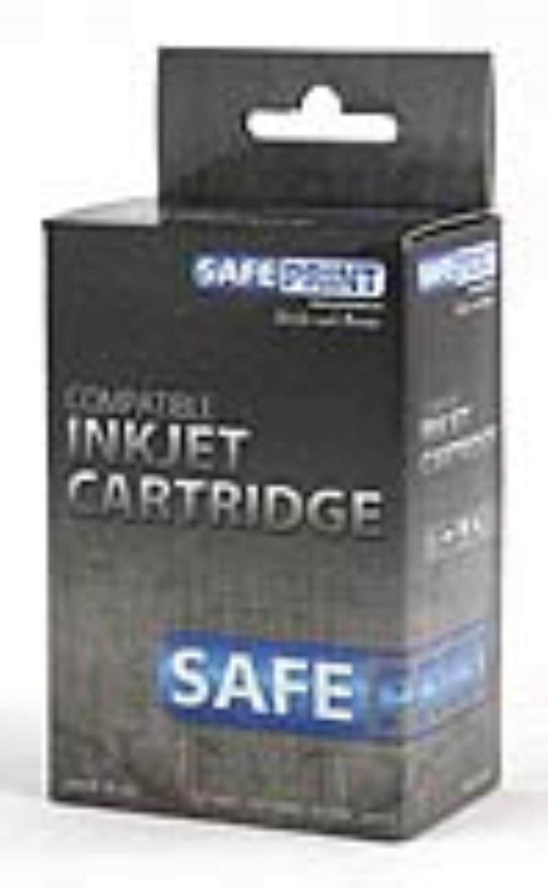 SAFEPRINT kompatibilní inkoust HP CC654AE + CC656AE MultiPack Plus | 2xBlack + 1xColor | 2x20ml + 1x21ml