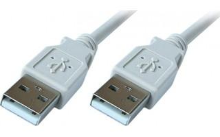 PremiumCord USB 2.0 A-A M/M 1m propojovací kabel
