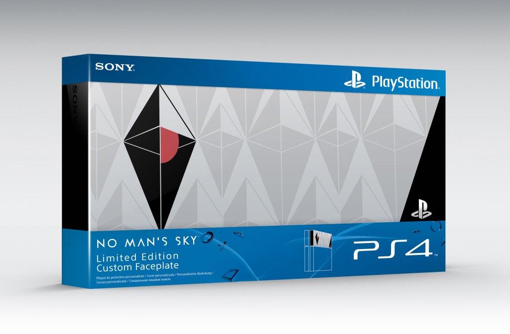 SONY PS4 Custom Faceplate No Man Sky