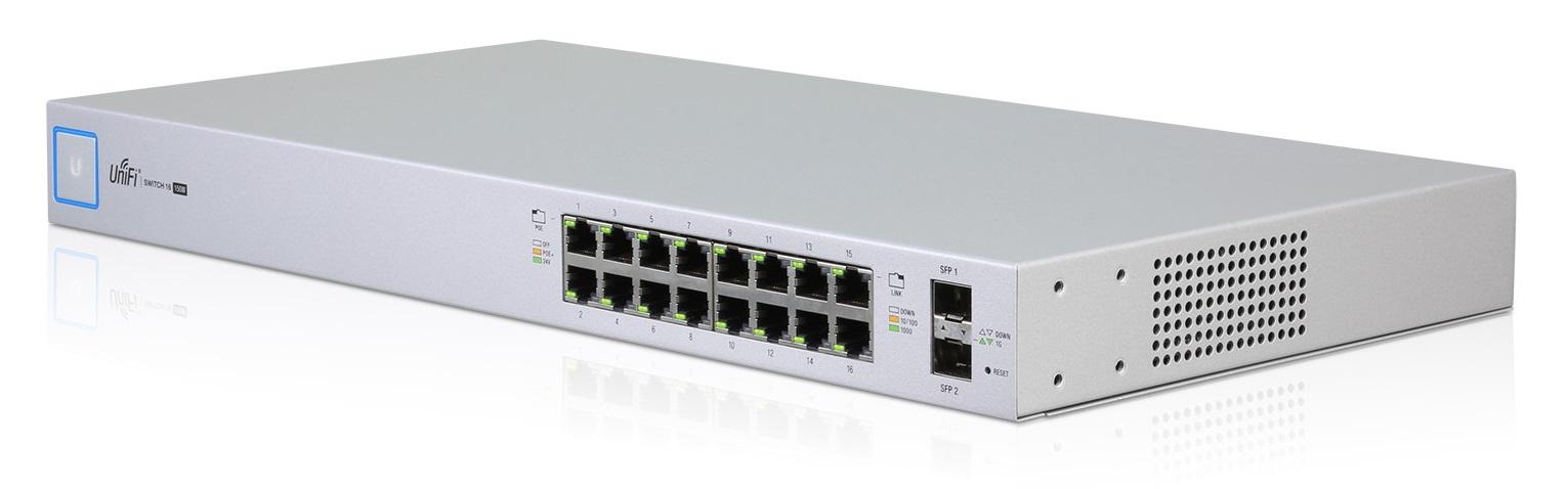 Ubiquiti UniFiSwitch US-16-150W - UniFi Switch, 16 ports, 150W