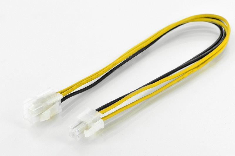Digitus redukce napájení M/F, 0.3m, P4 4-pin - P4 4-pin, UL