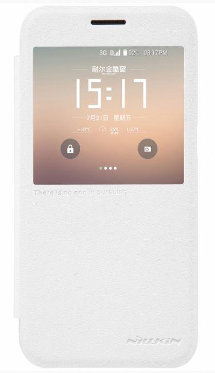 Nillkin Sparkle S-View Pouzdro pro Samsung G930 Galaxy S7 White