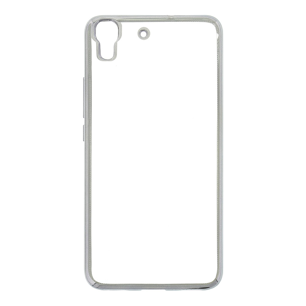 Kisswill TPU Pouzdro Transparent/Grey, Huawei Ascend Y6