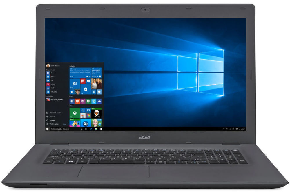 "Acer Aspire E 15 (E5-573G-30RY) i3-5005U/8GB+N/1TB+N/DVDRW/NVIDIA GeForce 920M 2GB/15.6""HD LED matný/W10 Home/Gray"