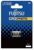 Fujitsu Lithium Battery CR2 baterie do fotoaparátu, 1 ks, Blister
