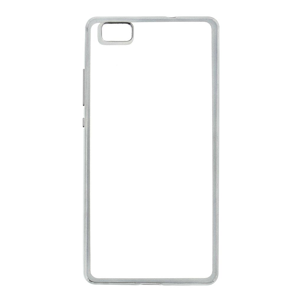 Kisswill TPU Pouzdro Transparent/Grey, Huawei Ascend P8 Lite