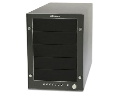Addonics Storage Tower V s 5-Port HPM XU