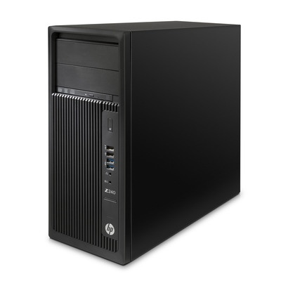 HP Z240 TWR Intel i5-6600 3.3GHz/16GB DDR4-2133 nECC (2x8GB)/256GB SSD/NVIDIA Quadro M2000 4GB 4xDP /Win 10 Pro+Win 7 Pr