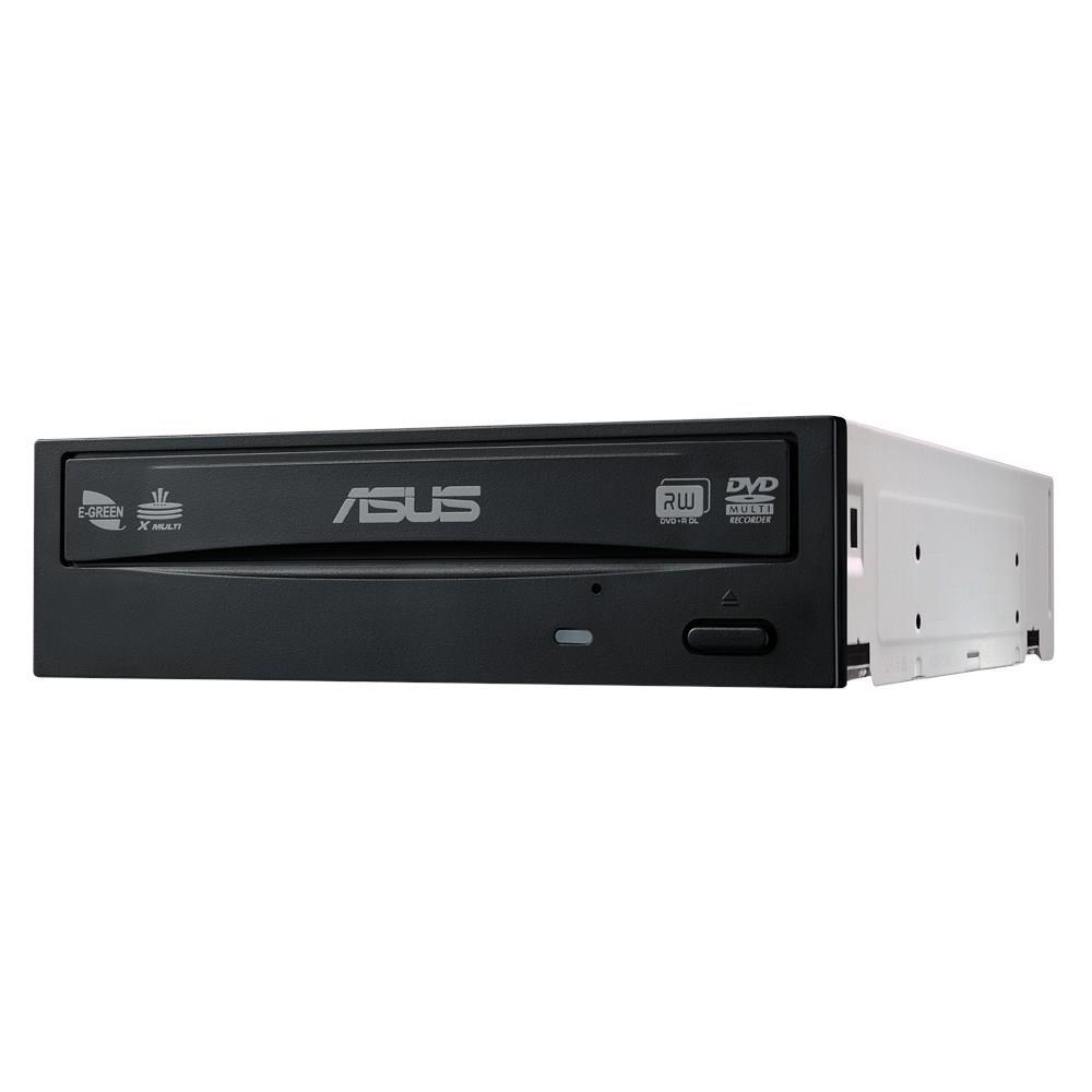 ASUS DVD+/-RW E-Green 24D5MT, 24x, SATA, Bulk, černá