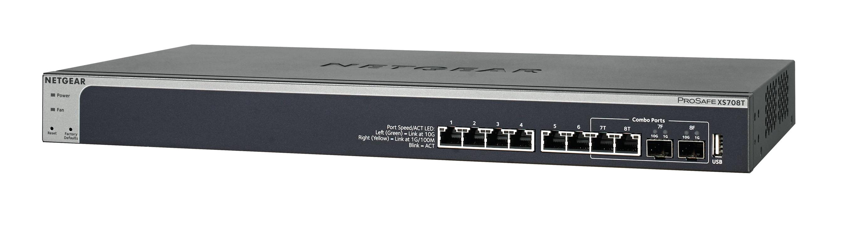 NETGEAR 8PT 10G SMART MANAGED SWITCH
