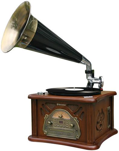 HIF-1850TUMPK Retro věž, gramo,CD,USB