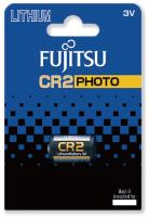 Fujitsu Lithium Battery CR2 baterie do fotoaparátu, 1 ks, Blister