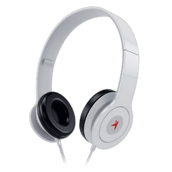 GENIUS headset - HS-M450/ (stereo sluchátka + mikrofon), 3,5mm, bílý