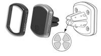SCOSCHE magnetický držák na mřížku ventilátoru, výměnné rámečky