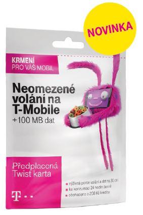 T-Mobile Twist V síti 200Kč kredit