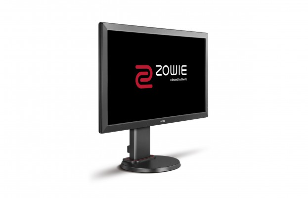 "Zowie by BenQ LCD RL2460 DARK GREY 24"" W/TN LED/1920 x 1080/12M:1/1ms/DVI,VGA/2xHDMI/Flicker-free/Black"