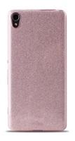 """Puro zadní kryt """"SHINE COVER"""" pro Sony Xperia XA , růžové zlato"""