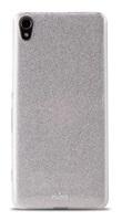 """Puro zadní kryt """"SHINE COVER"""" pro Sony Xperia XA , stříbrná"""