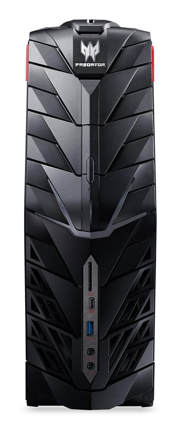 Demo produkt Acer Aspire G1-710_P Predator i7 6700/2x4GB/128GB SSD+1TB/DVDRW/GTX 970/ BT/CardReader/USB 3.1/W10 Home