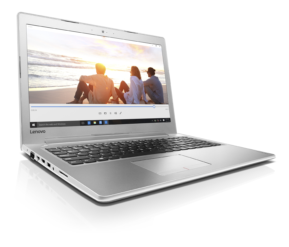 "Lenovo IdeaPad 510-15ISK i7-6500U 3,10GHz/8GB/1TB/15,6"" FHD/AG/GeForce 4GB/WIN10 bílá 80SR00AFCK"