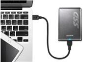 Adata SSD SV620 480GB up to 410/410MB/s USB 3.0, titanium