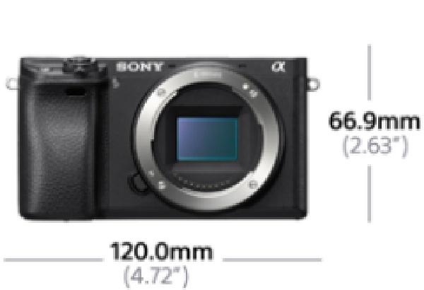 SONY ILCE-6300 Fotoaparát Alfa 6300 s bajonetem E