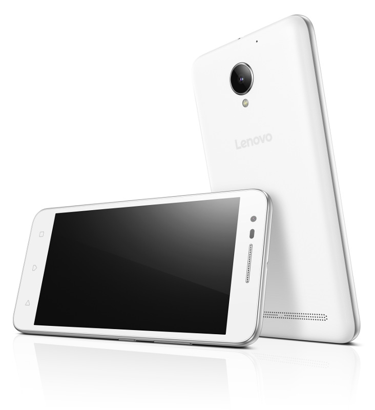 "Lenovo Smartphone C2 Power Dual SIM/5,0"" IPS/1280x720/Quad-Core/1,0GHz/2GB/16GB/8Mpx/LTE/Android 6.0/White"