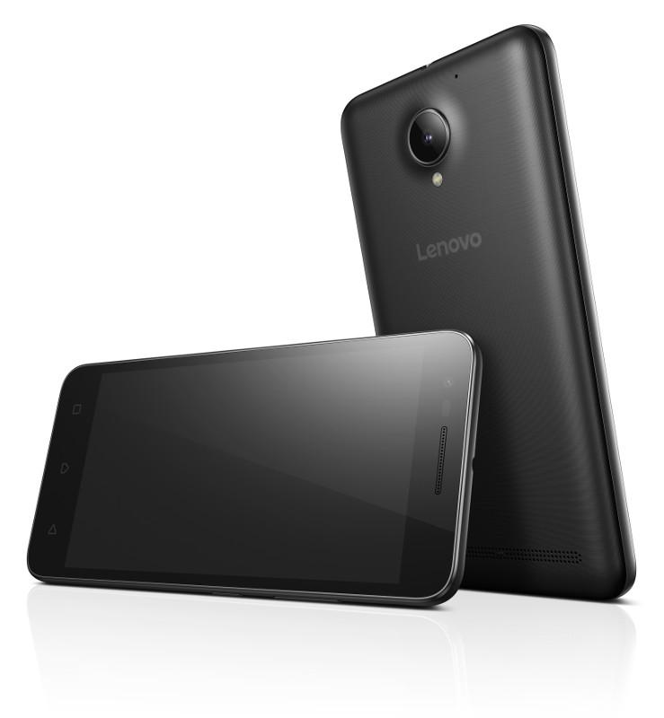 "Lenovo Smartphone C2 Dual SIM/5,0"" IPS/1280x720/Quad-Core/1,0GHz/1GB/8GB/8Mpx/4G/Android 6.0/Black"