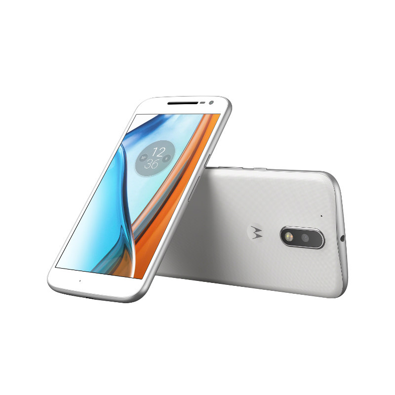 "Lenovo Moto G4 Dual SIM/5,5"" IPS/1920x1080/Octa-Core/1,5GHz/2GB/16GB/13Mpx/LTE/Android 6.0/White"