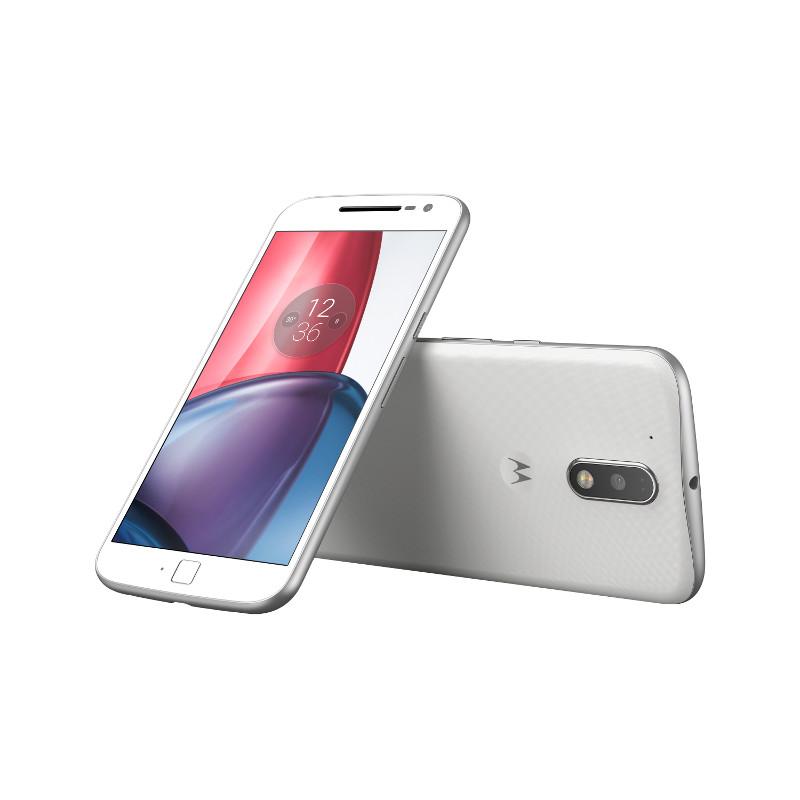 "Lenovo Moto G4 Plus Dual SIM/5,5"" IPS/1920x1080/Octa-Core/1,5GHz/2GB/16GB/16Mpx/LTE/Android 6.0/White"
