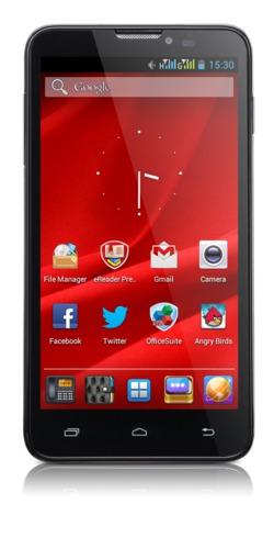 "PRESTIGIO MultiPhone 5307 DUO, 5.3"", Dual SIM, Android 4.1, 4GB, MicroSD slot,3G,GPS,černý, bazar"