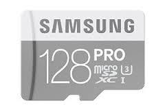 Micro SDXC 128GB Samsung Class 10 PRO