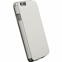 Krusell flipové pouzdro DONSÖ FLIPCASE pro Apple iPhone 6, bílá - Bazar - rozbaleno