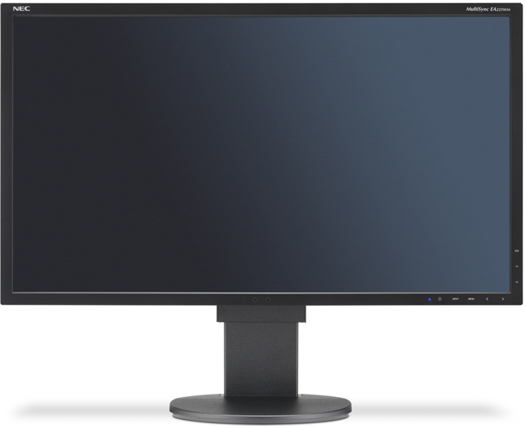 "NEC 22"" EA223WM - 1680x1050, TN, W-LED, 250cd, D-sub, DVI, DP, USB, Repro, černý"