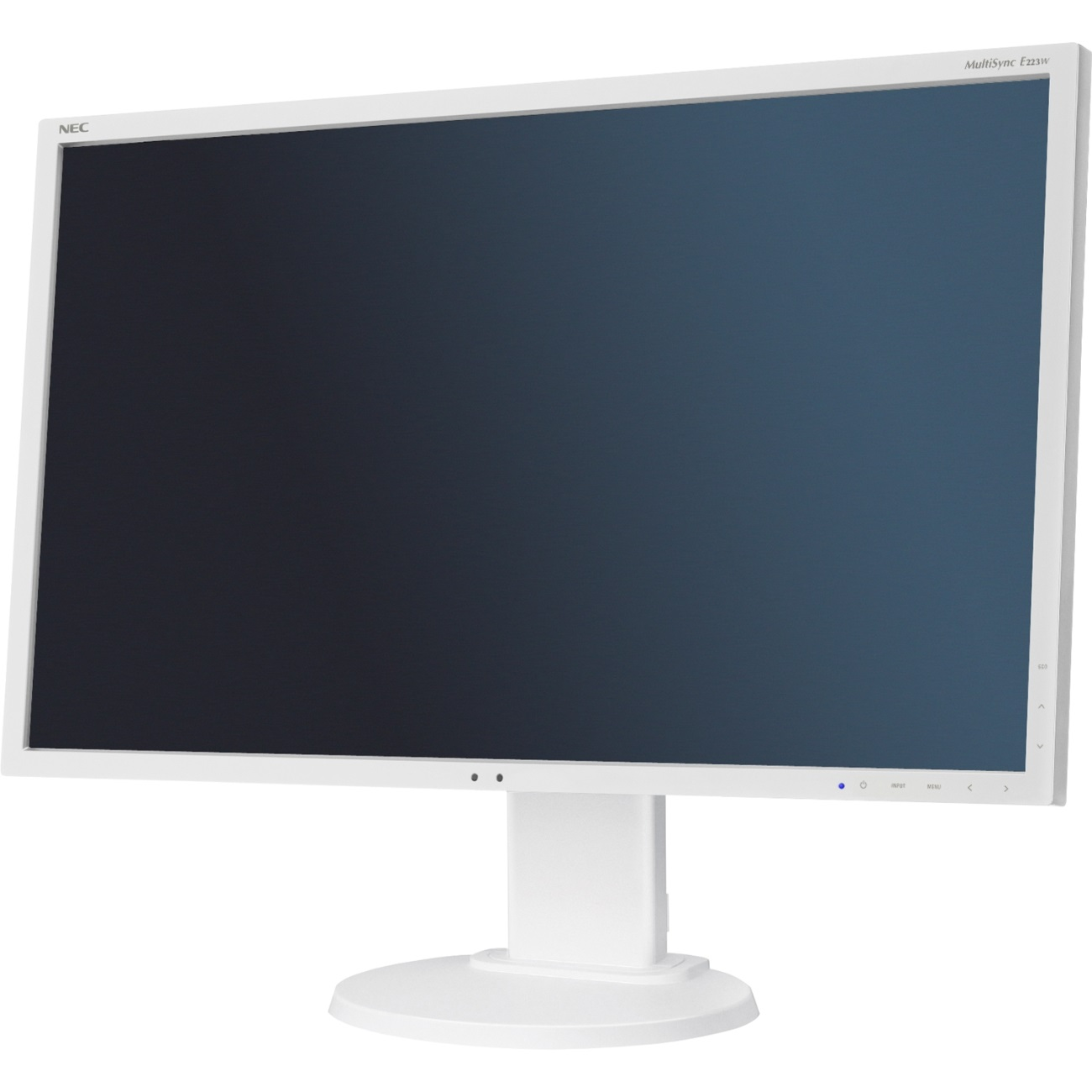 "NEC 22"" E223W - 1680x1050, TN, W-LED, 250cd, D-sub, DVI, DP, černý"
