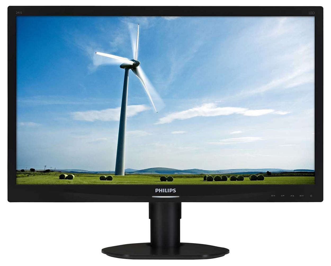 "Philips LCD 241S4LCB 24""wide/1920x1080/5ms/20mil.:1/DVI/LED/pivot, černý"