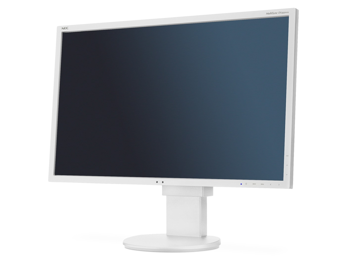 "NEC 22"" EA223WM - 1680x1050, TN, W-LED, 250cd, D-sub, DVI, DP, USB, Repro, bílý"