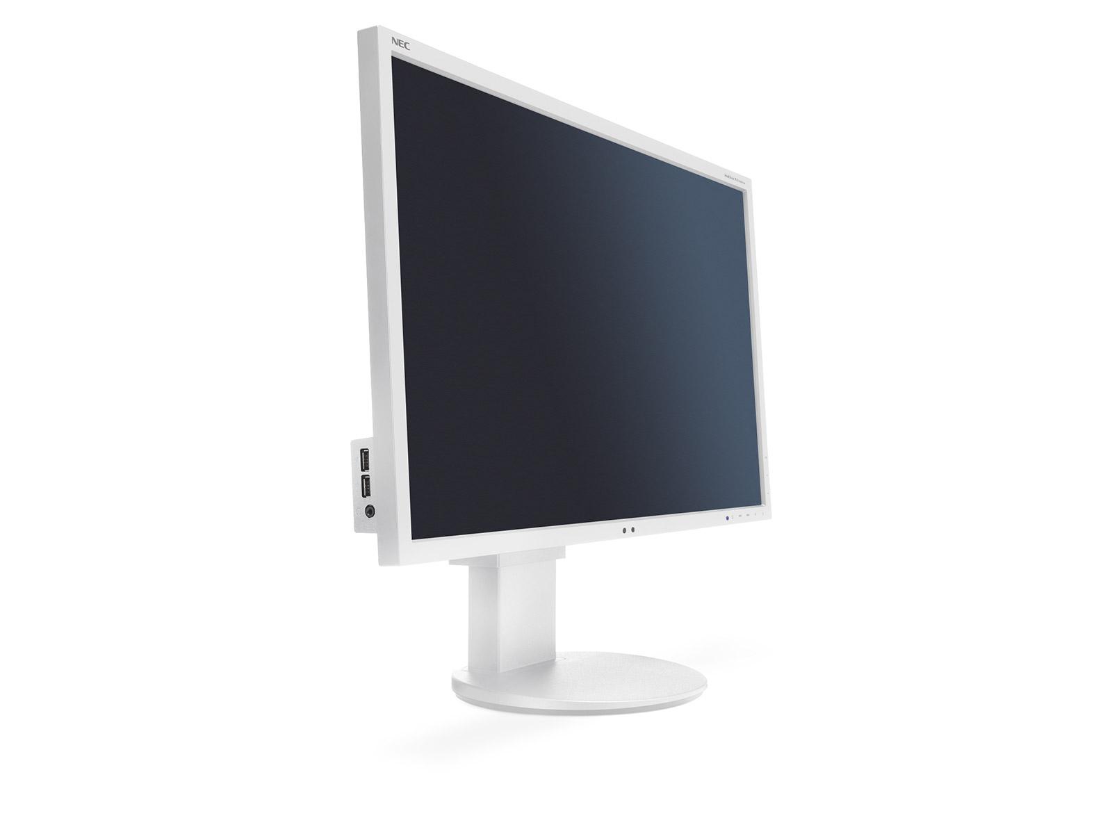 """NEC 24"""" EA244WMi - 1920x1200, IPS, W-LED, 350cd, D-sub, DVI, DP, HDMI, USB, Repro, bílý"""