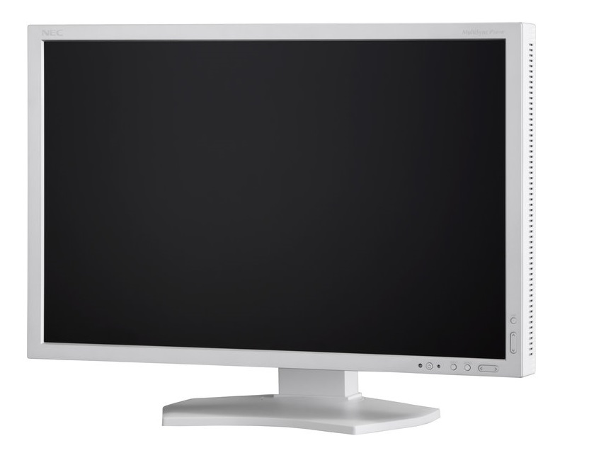 "NEC 24"" P242W - 1920x1200, IPS, W-LED, 350cd, D-sub, DVI, DP, HDMI, USB, bílý"