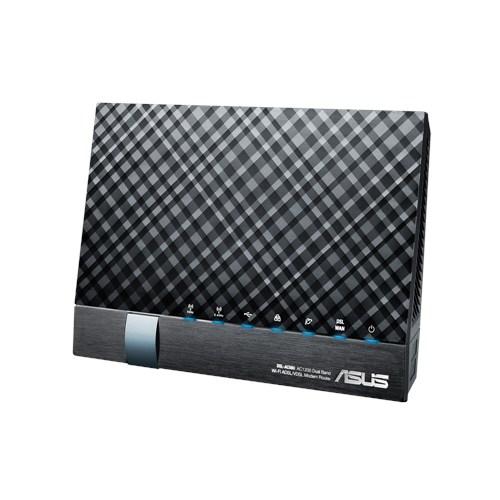 Asus DSL-AC56U AC1200 Router, Dualband Wireless VDSL2/ADSL Modem , Annex A&B