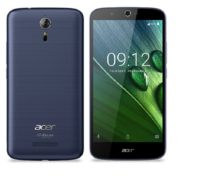 "ACER LIQUID ZEST Plus LTE 5,5"" IPS 1280x720, 1,3GHz Quad-Core, ROM 16GB, RAM 2GB, 13Mpx/5Mpx, modrý , Android 6.0, bat"